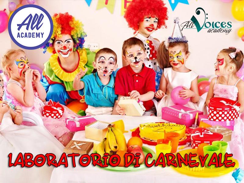 Laboratorio di Carnevale in Inglese