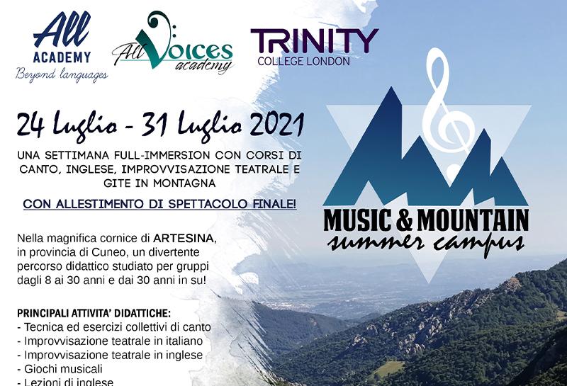 Music&Mountain summer campus 2021