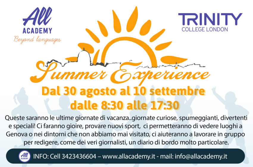 Summer Experience 2021