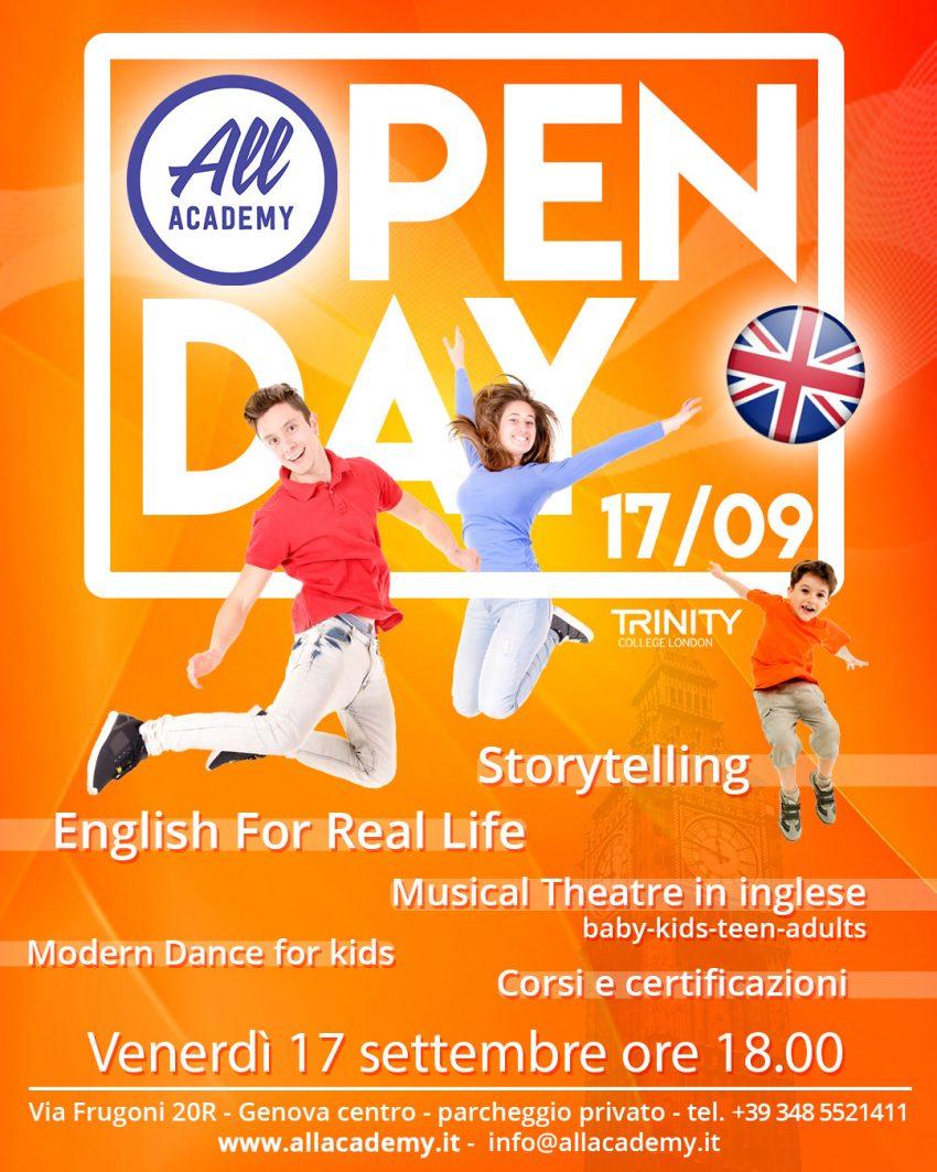 Open Day – Settembre 2021